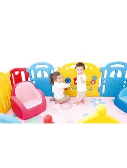Tarc de joaca pentru copii, premium, CASTELUL COPIILOR curcubeu