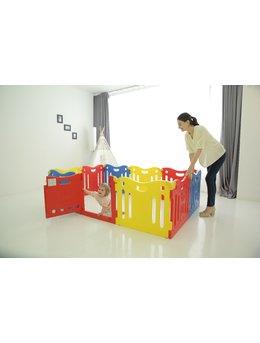 Tarc de joaca pentru copii, premium, CASTELUL COPIILOR MIC multicolor