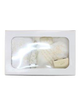 Trusou botez 7 piese ivoire A1800