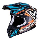 Casca cross-enduro SCORPION EXO VX-16 AIR ROK BAGOROS