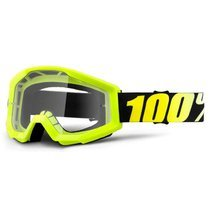 Ochelari moto cross-enduro 100% STRATA NEON YELLOW