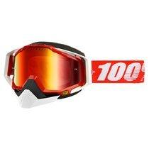 Ochelari ski 100% RACECRAFT SNOW RED