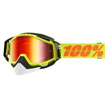 Ochelari ski 100% RACECRAFT SNOW YELLOW