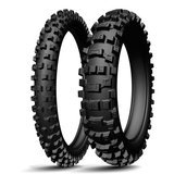 Set anvelope MICHELIN AC10  80/100-21 (51R) + 120/90-18 (65R)