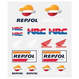 Set stickere medii Honda Repsol
