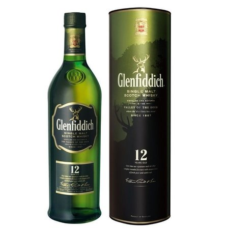 Glenfiddich 12 YO 1L