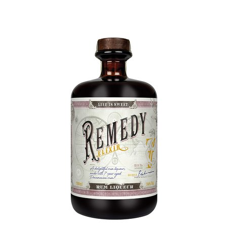 Rom Liquer Remedy Elixir 0.7 l