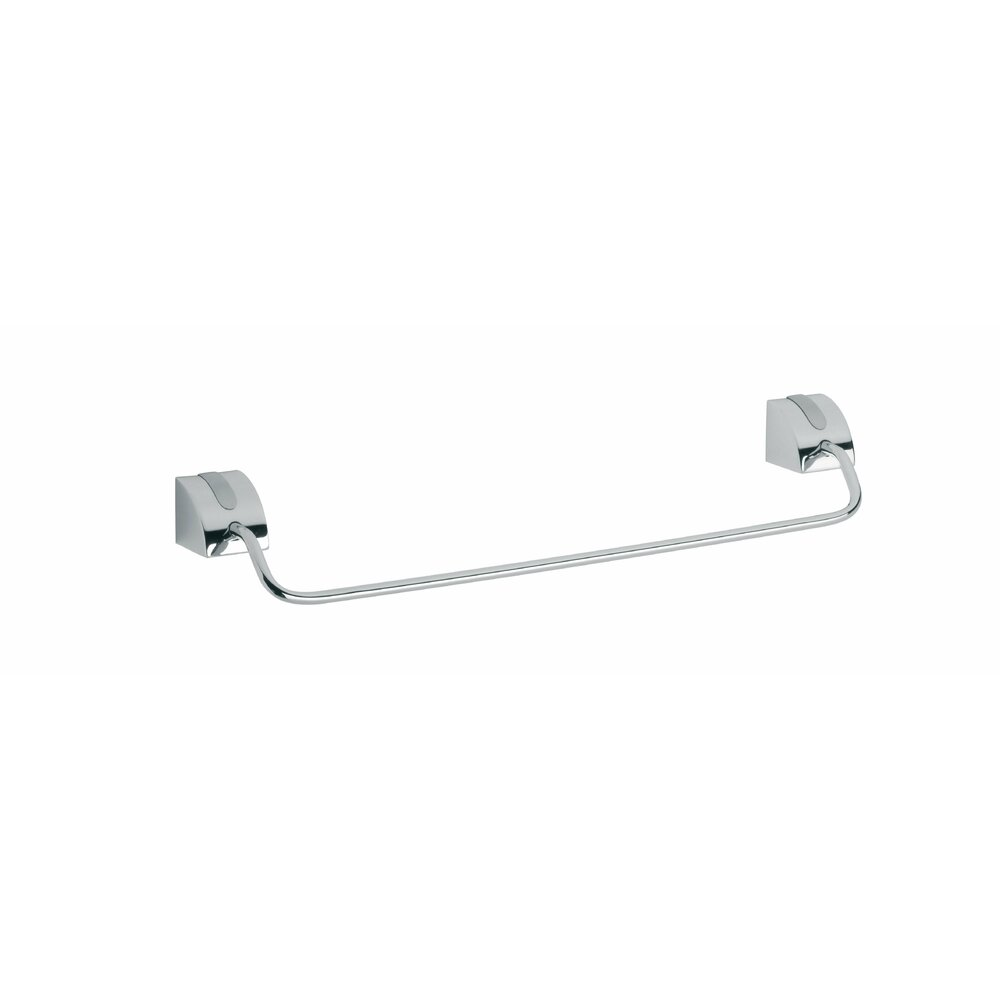Bare port prosop simplu crom/satinat Ferro Cascata 45 cm imagine