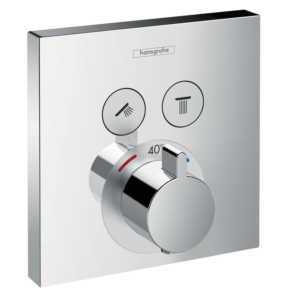 Baterie dus termostatica Hansgrohe ShowerSelect poza