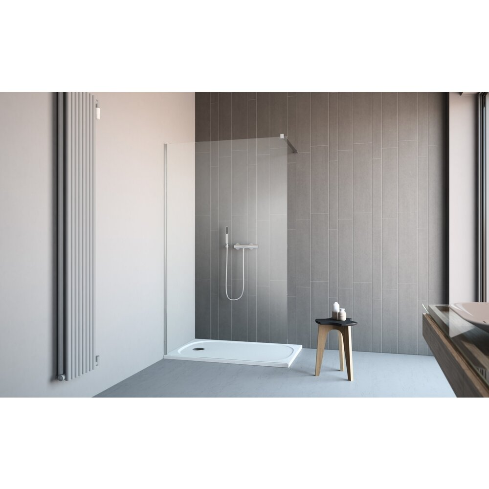 Cabina de dus tip Walk-in Radaway Classic 90 cm imagine neakaisa.ro