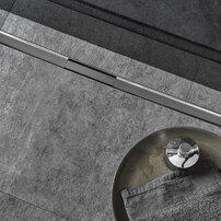 Capac pentru rigola Geberit Cleanline80 30-90 cm otel inoxidabil