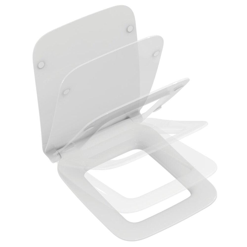 Capac vas wc Ideal Standard Strada II slim soft close poza