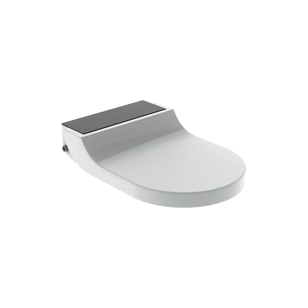 Capac wc Geberit Aquaclean Tuma Comfort cu functie de bideu negru poza