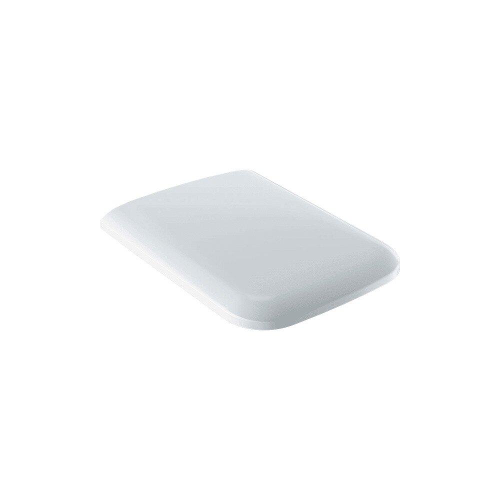 Capac wc softclose Geberit Icon Square cu balamale Quick Release imagine