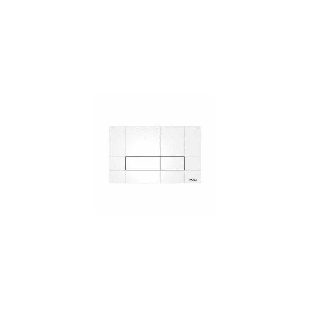 Clapeta de actionare Kolo Box alb