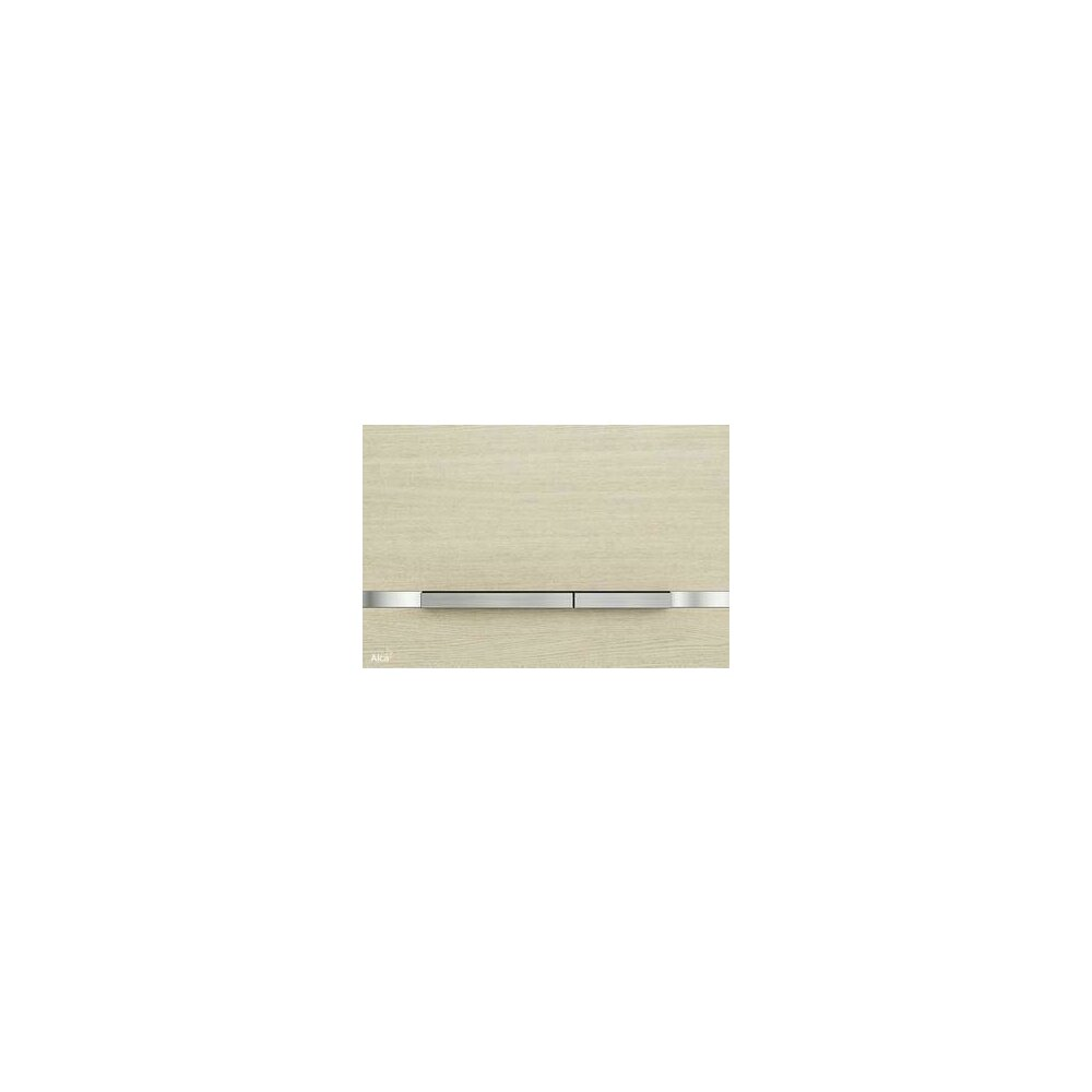 Clapeta de actionare Alcaplast Flat Wood Stripe Oak White poza