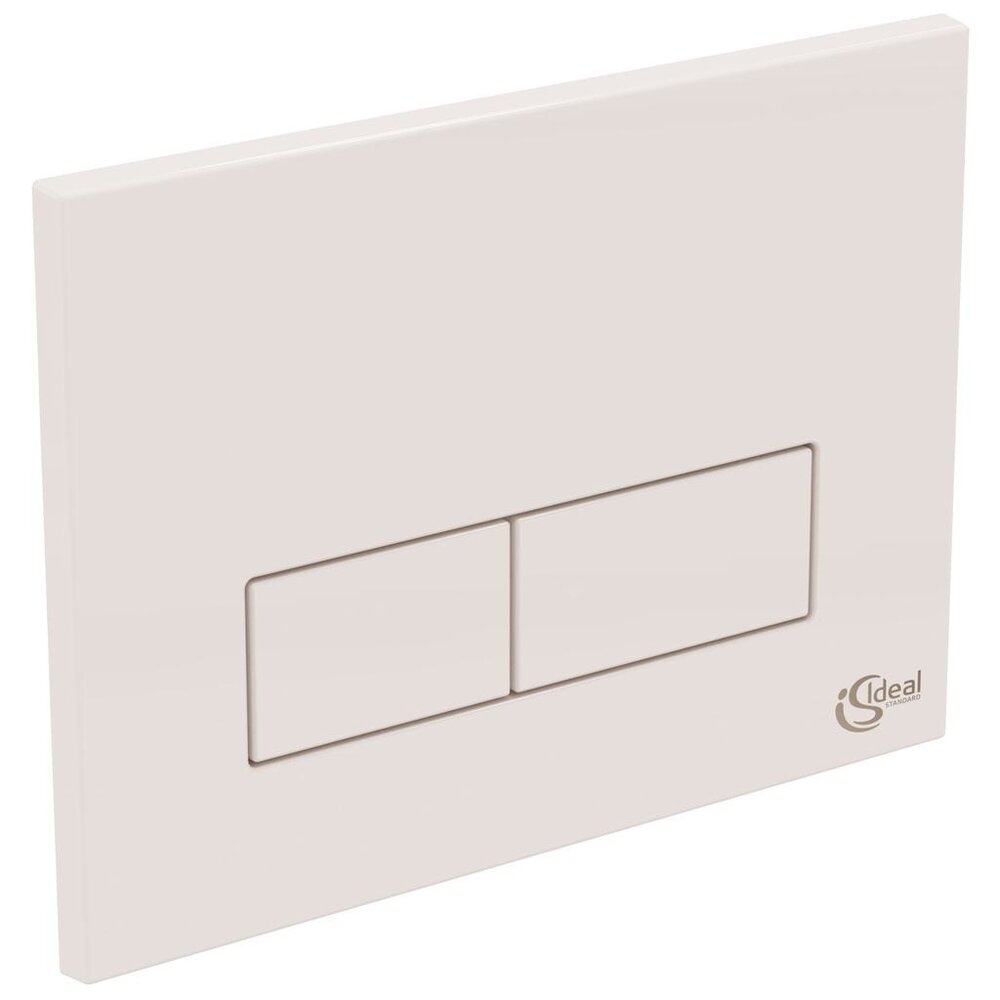 Clapeta de actionare dubla comanda Ideal Standard alb