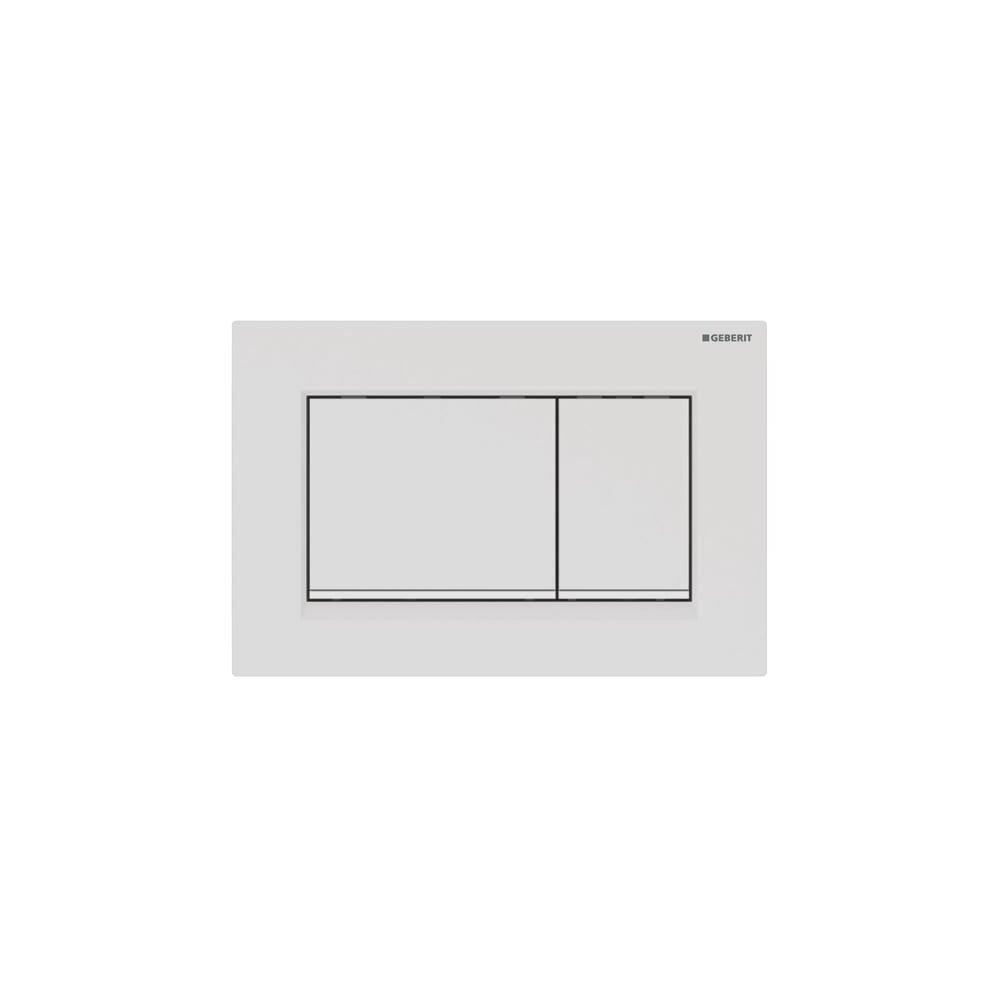 Clapeta de actionare Geberit Sigma 30 alb mat lacuit