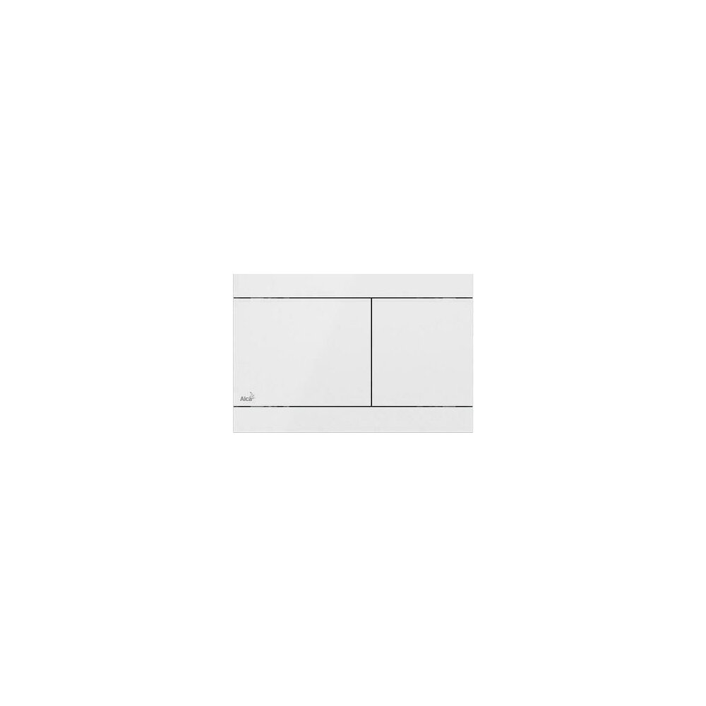 Clapeta de actionare Alcaplast Flat Color Fun White imagine