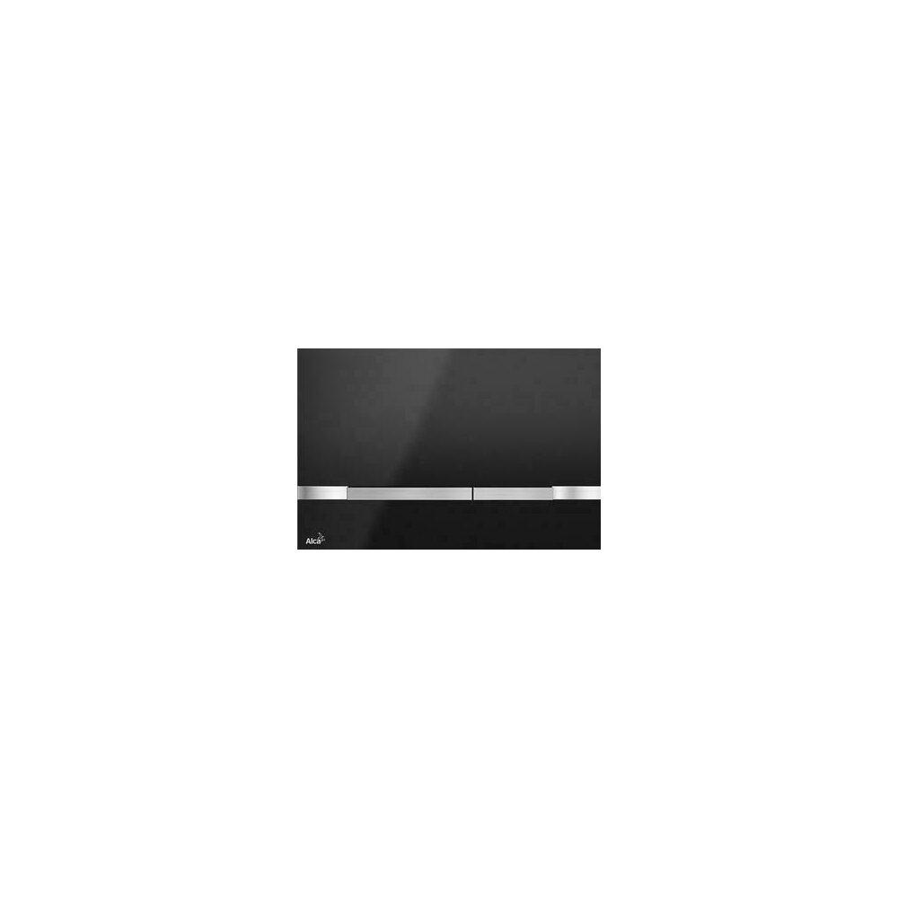 Clapeta Actionare Flat Color Stri Black