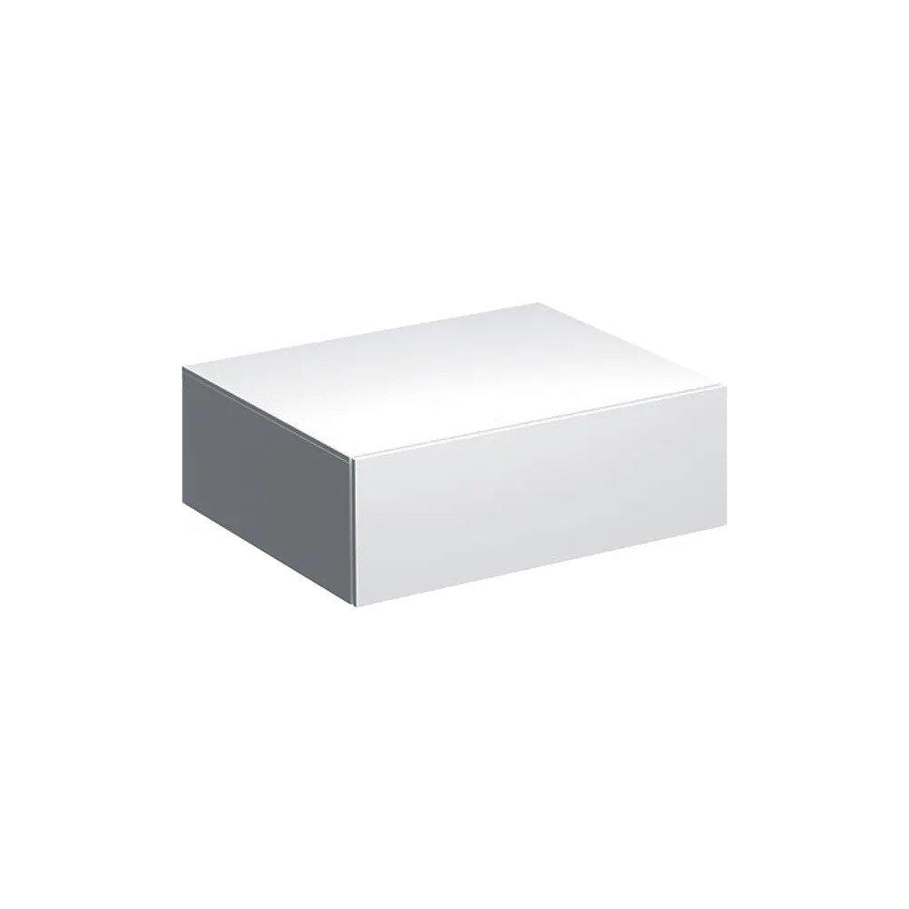 Dulap baie suspendat alb Geberit Xeno² 1 sertar 58 cm neakaisa.ro