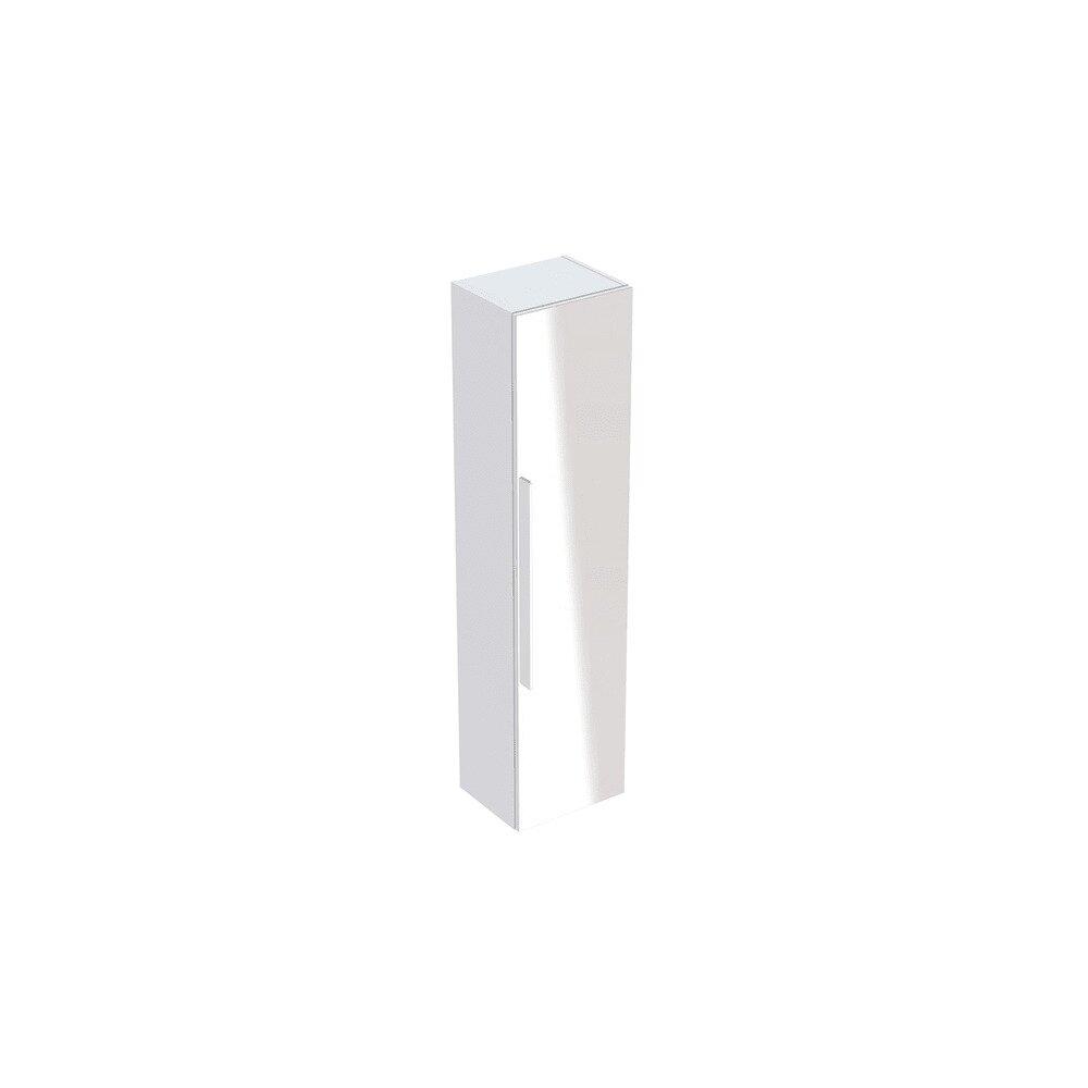 Dulap baie suspendat alb mat Geberit Icon 1 usa si 1 oglinda 36 cm neakaisa.ro