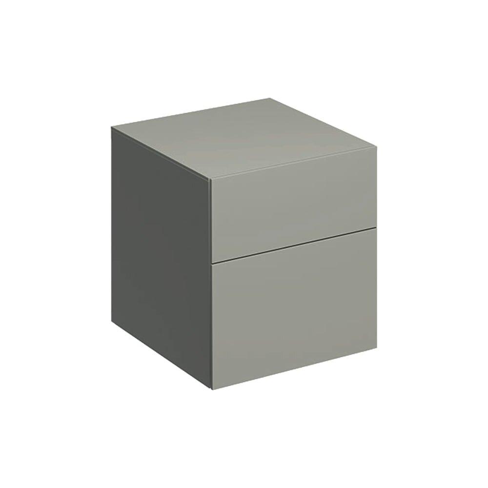 Dulap baie suspendat bej Geberit Xeno² 2 sertare 45 cm imagine neakaisa.ro