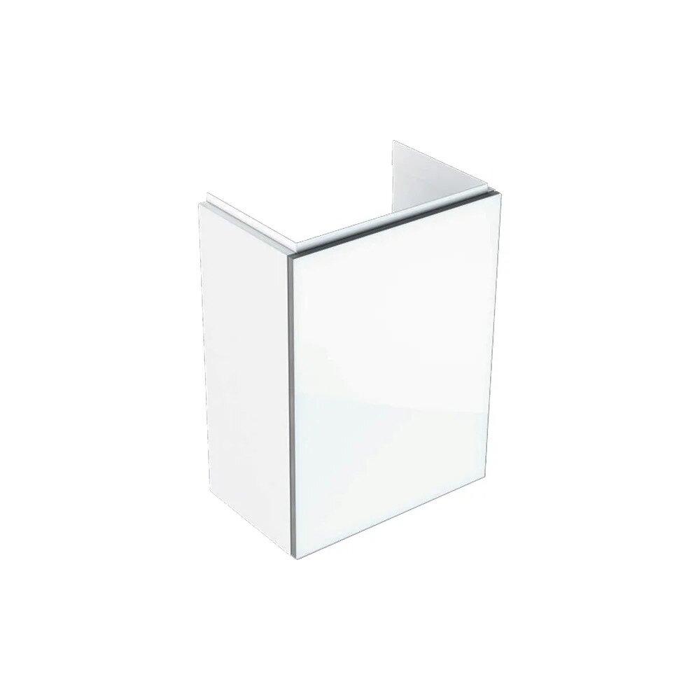 Dulap baza pentru lavoar suspendat alb Geberit Acanto 1 usa 40 cm imagine