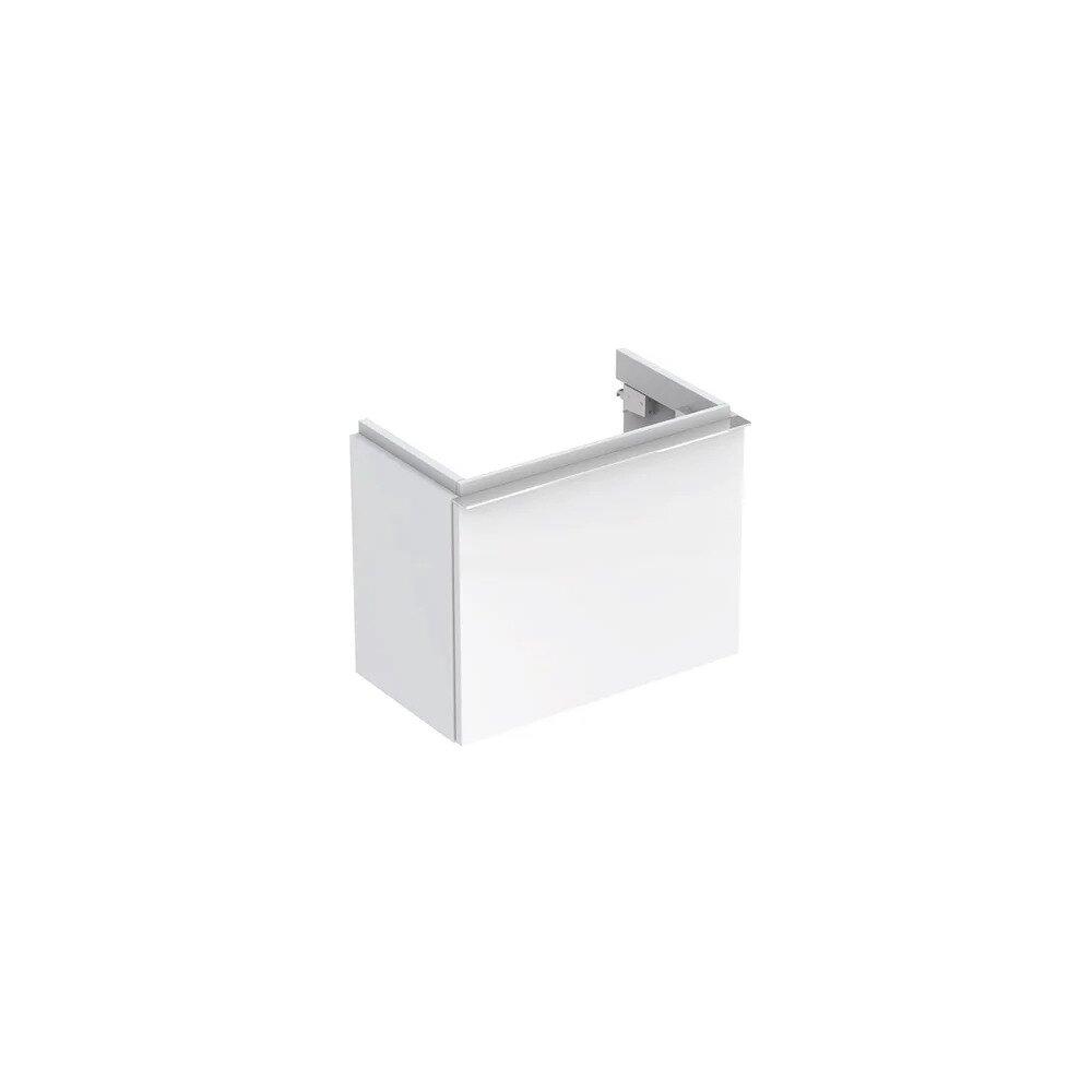 Dulap baza pentru lavoar suspendat alb lucios Geberit Icon 1 sertar 52 cm imagine