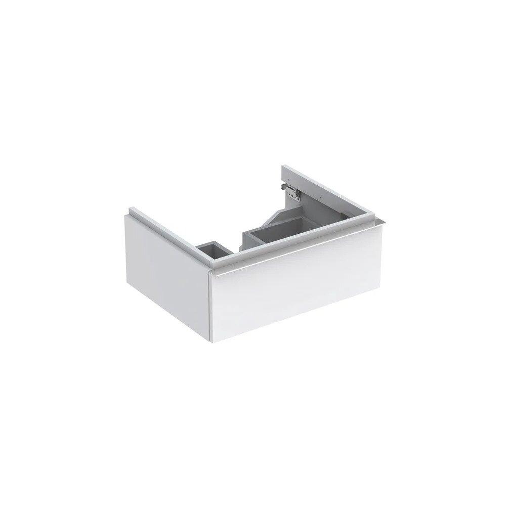 Dulap baza pentru lavoar suspendat alb lucios Geberit Icon 1 sertar 60 cm neakaisa.ro