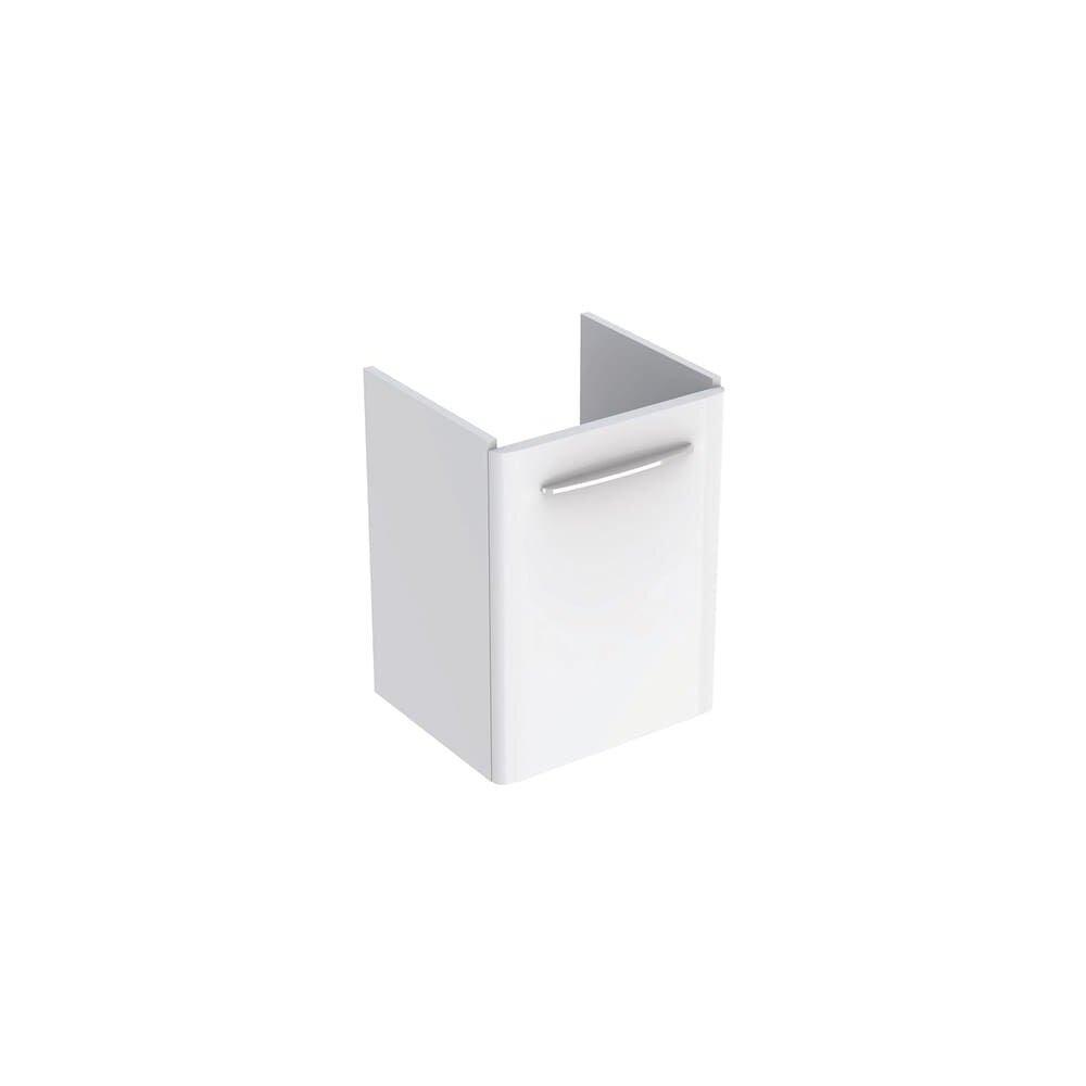 Dulap baza pentru lavoar suspendat Geberit Selnova Square alb 1 usa 50 cm imagine