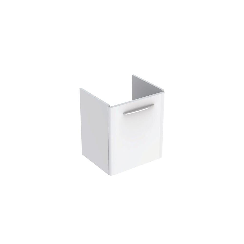 Dulap baza pentru lavoar suspendat Geberit Selnova Square alb 1 usa 60 cm imagine