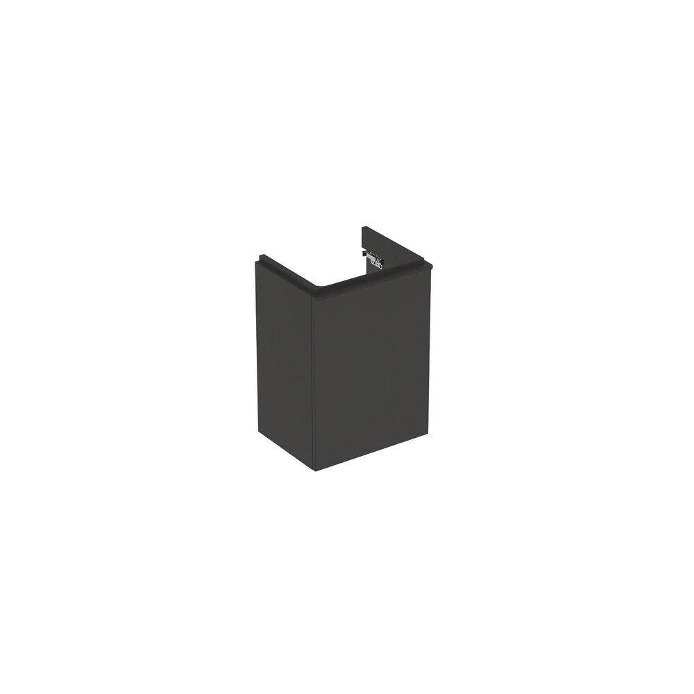 Dulap Baza Lavoar Suspendat Smyle Square Negru Usa