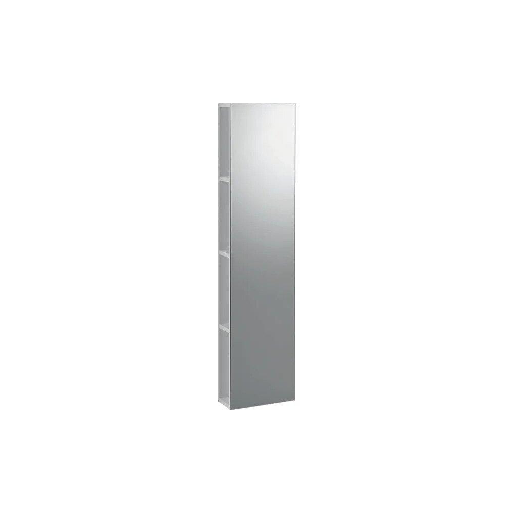 Dulap cu oglinda suspendat alb lucios Geberit Icon 28 cm neakaisa.ro