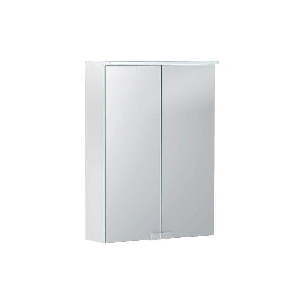 Dulap cu oglinda suspendat Geberit Option Basic alb mat 50 cm imagine neakaisa.ro