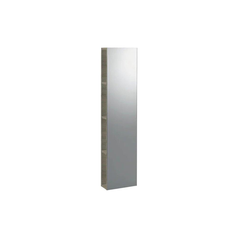 Dulap cu oglinda suspendat stejar natural Geberit Icon 28 cm