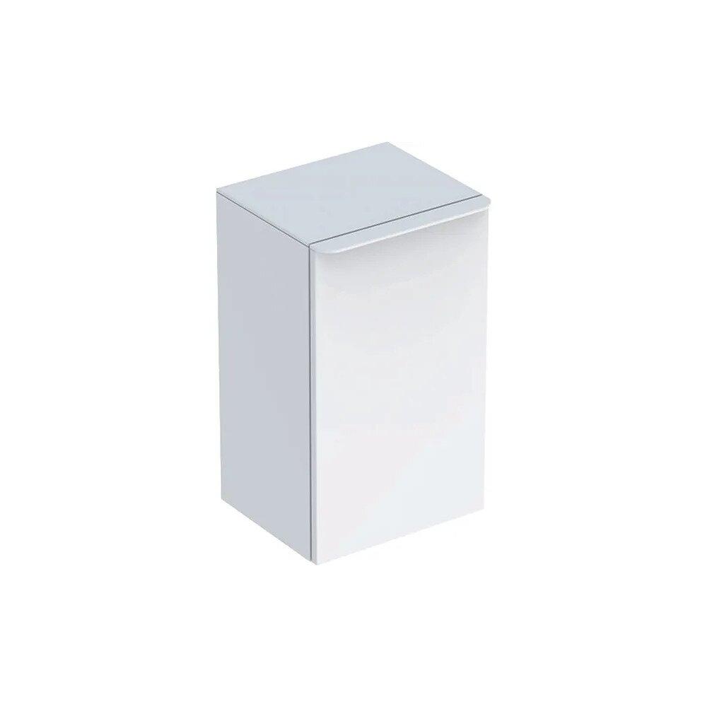 Dulap mediu suspendat Geberit Smyle Square alb 1 usa opritor stanga 36 cm imagine neakaisa.ro
