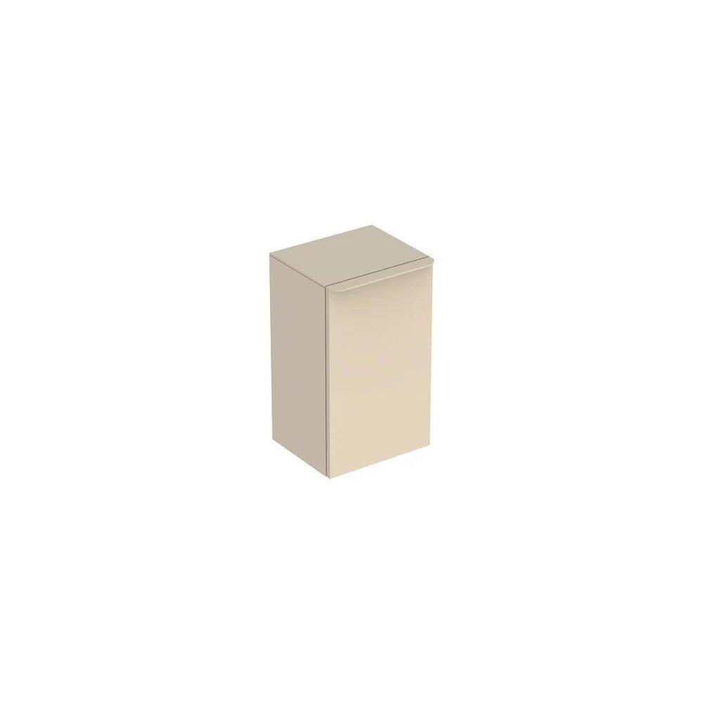 Dulap inalt suspendat Geberit Smyle Square gri nisip 1 usa opritor stanga 36 cm imagine