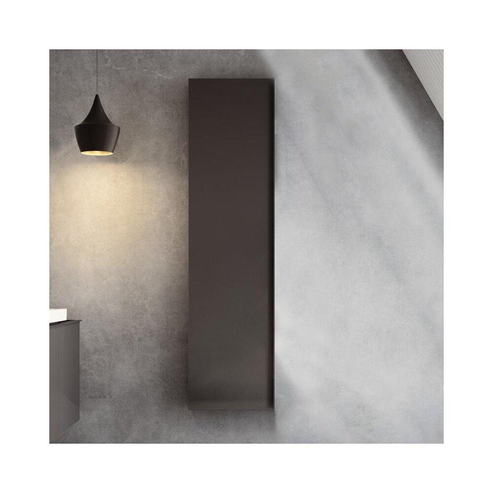 Dulap inalt suspendat negru Geberit Acanto 1 usa 45 cm imagine neakaisa.ro