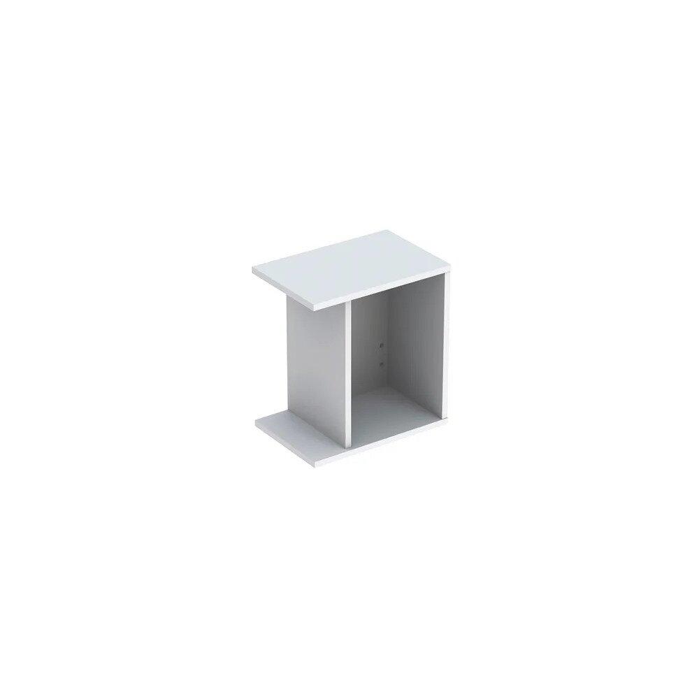 Dulap lateral suspendat alb mat Geberit Icon adancime 28 cm imagine