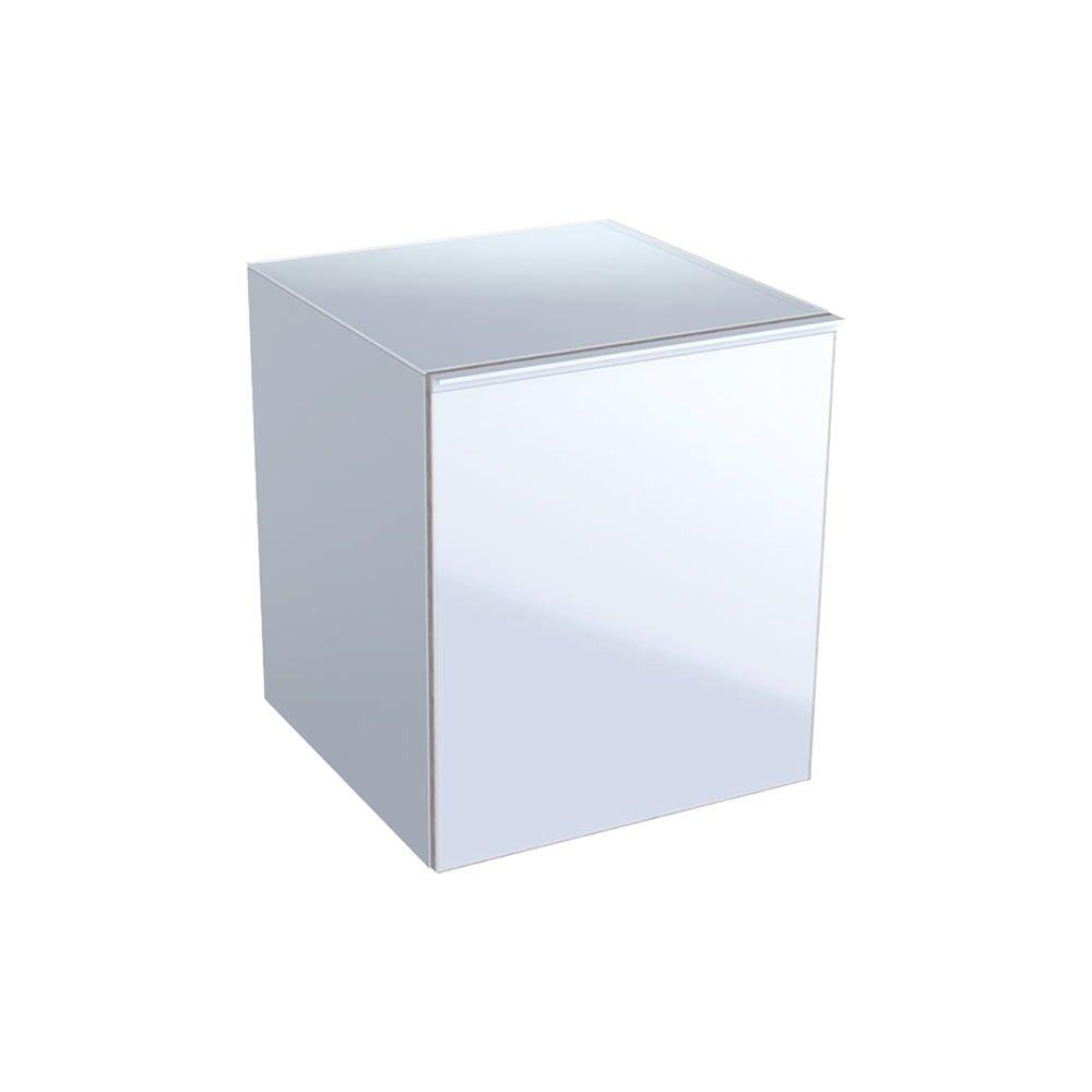 Dulap mediu suspendat alb Geberit Acanto 1 sertar 45 cm imagine neakaisa.ro
