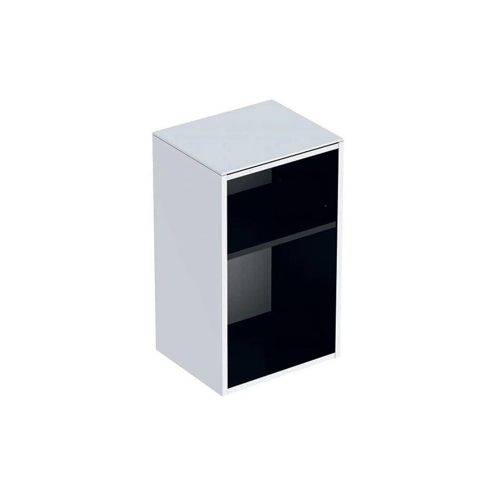 Dulap mic suspendat Geberit Smyle Square alb 36 cm