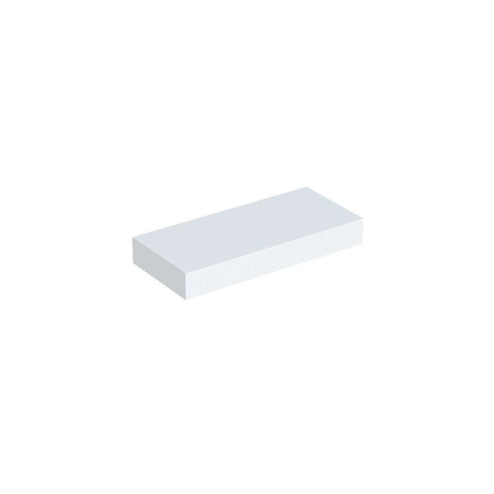 Etajera de perete alb mat Geberit Icon 37 cm poza