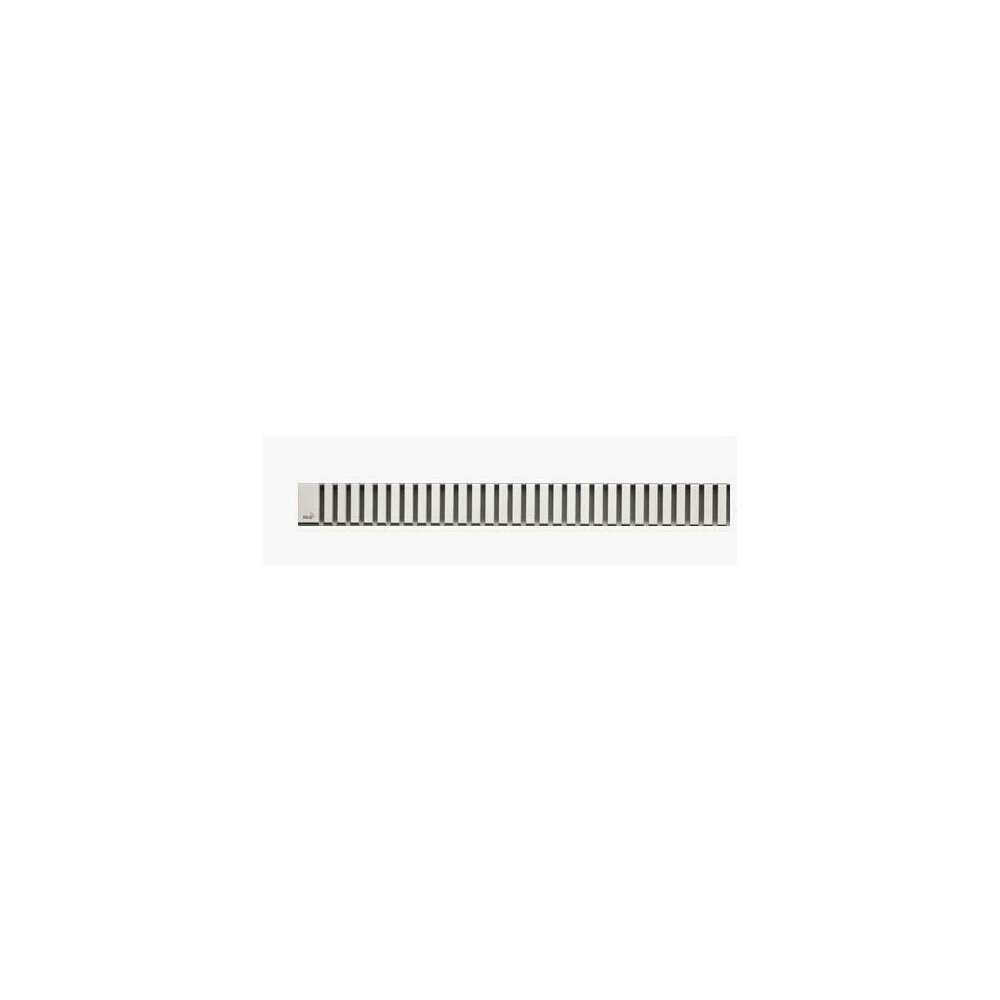 Capac pentru rigola de dus Alcaplast LINE 1150L 115 cm otel mat poza