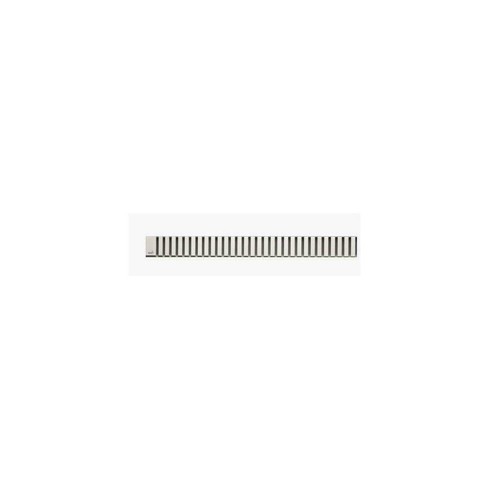 Capac pentru rigola de dus Alcaplast LINE 550L 55 cm otel mat