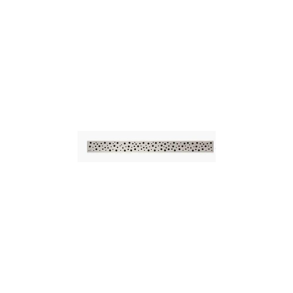 Capac pentru rigola de dus Alcaplast BUBLE 650L 65 cm otel mat imagine