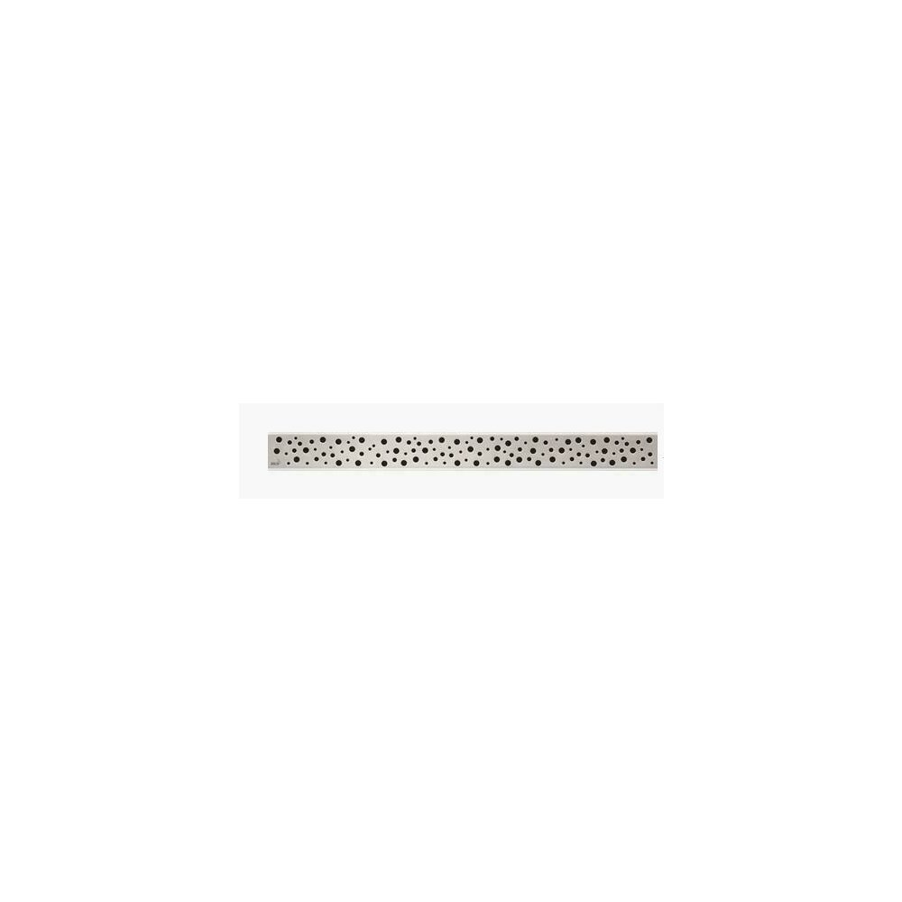 Capac pentru rigola de dus Alcaplast BUBLE 750L 75 cm otel lustruit poza