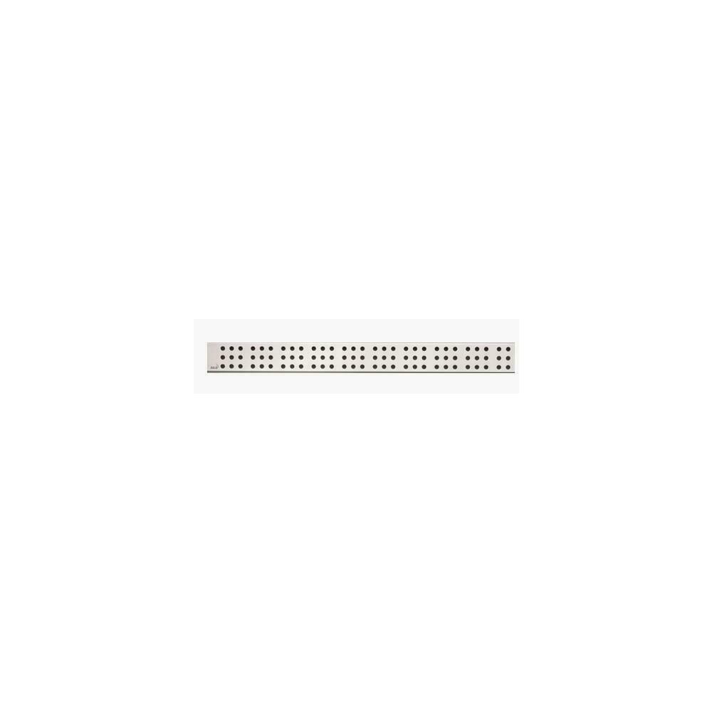 Capac pentru rigola de dus Alcaplast CUBE 750L 75 cm otel mat poza