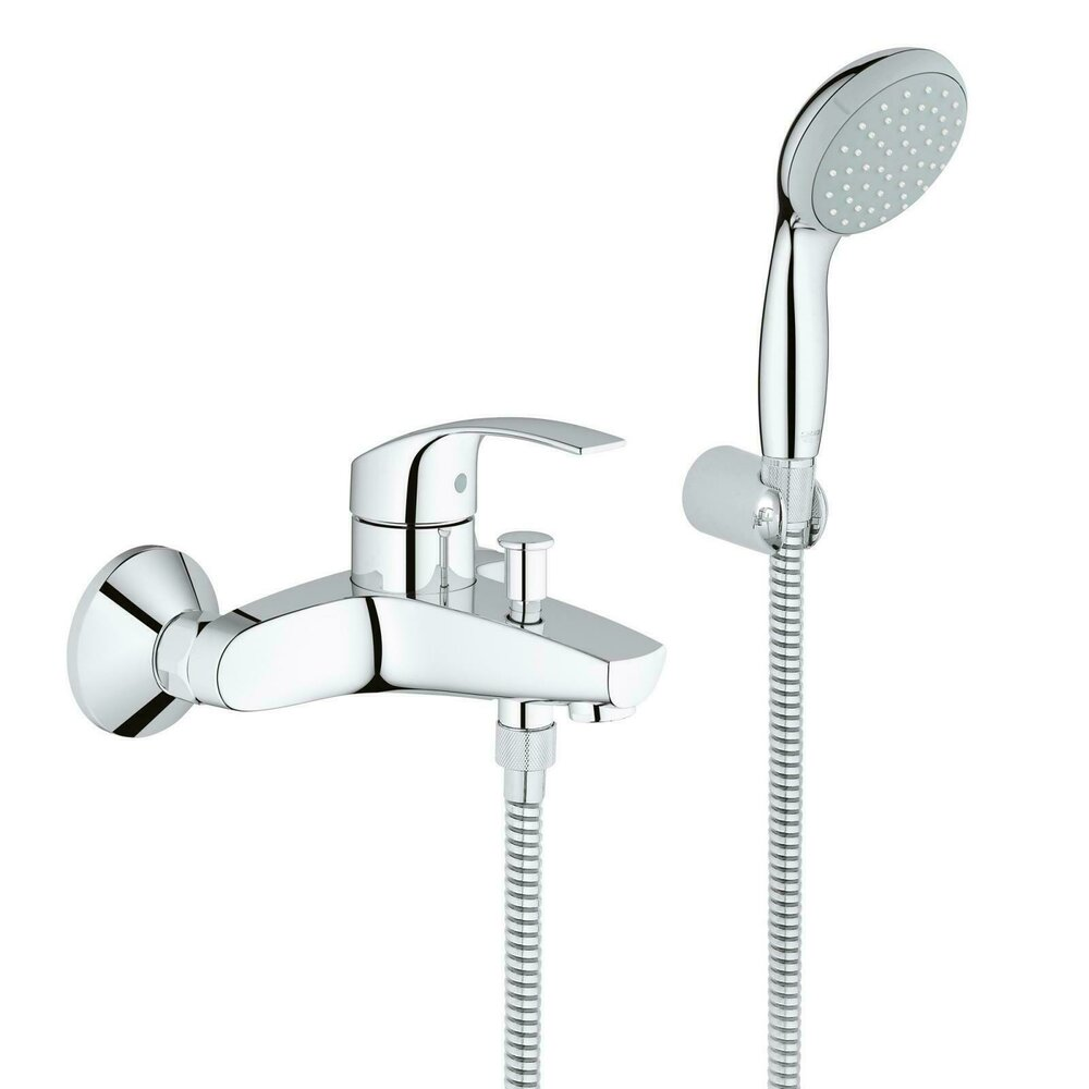 Baterie cada Grohe Eurosmart New cu set dus imagine