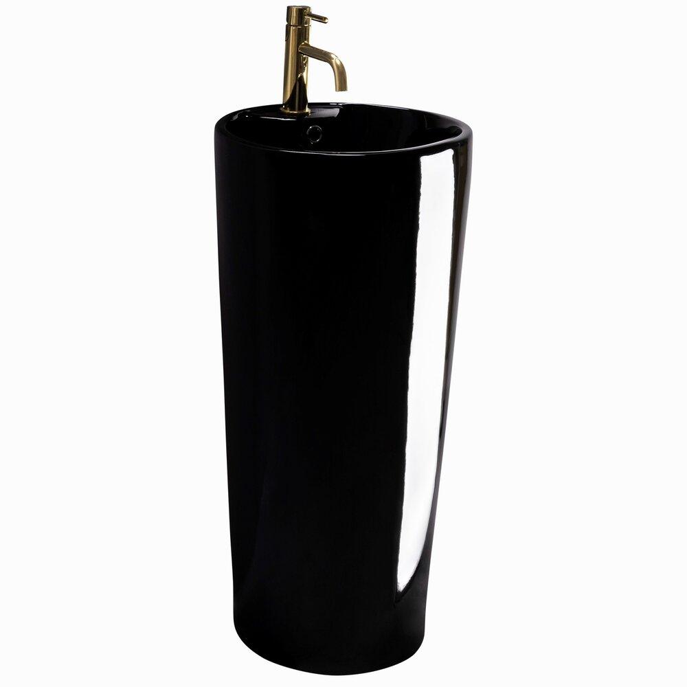 Lavoar Freestanding Negru Blanka